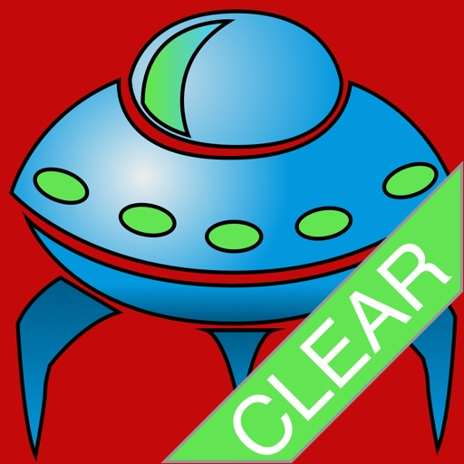 UFO Alien Invaders Clear