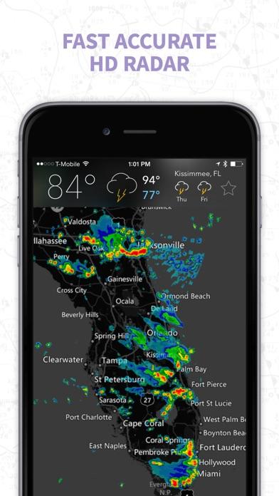 MyRadar Weather Radar Pro Screenshot