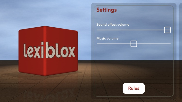 Lexiblox: 3D Word Game screenshot-3