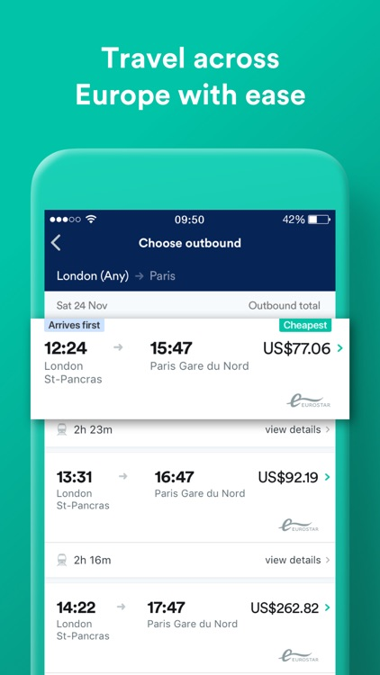 Trainline: Train and Bus App