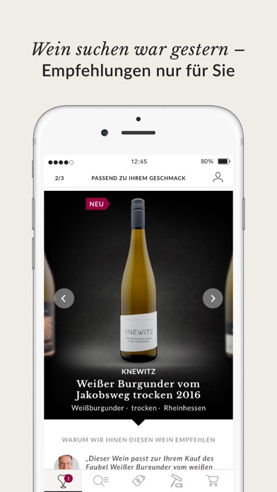 Screenshot for VICAMPO – Wein online kaufen in Germany App Store