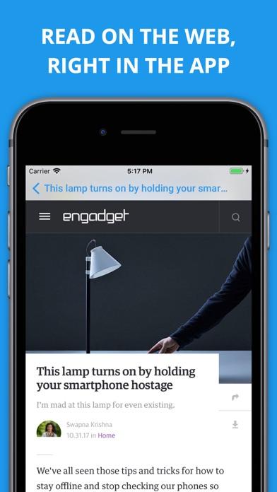 Newsify s'occupe de vos flux Google Reader sur iPhone-capture-5