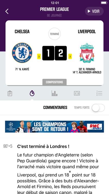 RMC Sport News, Foot en direct screenshot-4