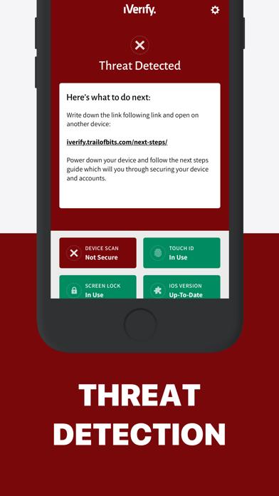 iVerify. - Secure your Phone!のおすすめ画像2