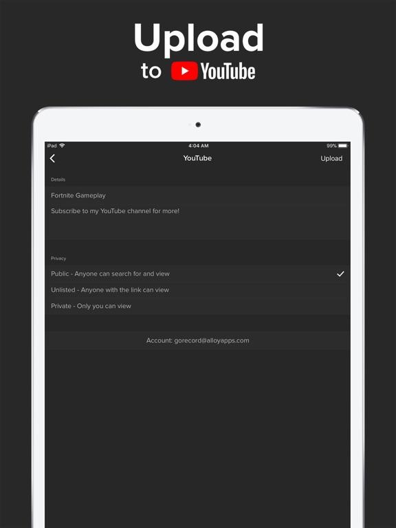 Go Record: Screen Recorder screenshot
