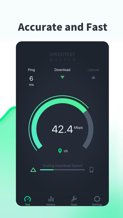 SPEEDTEST MASTER - Test Speed