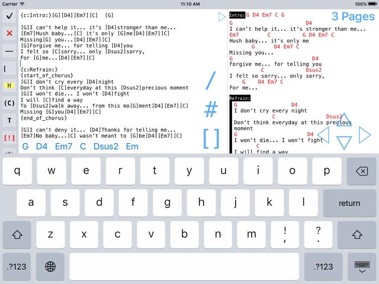 Music Binder (PDF & ChordPro) screenshot-3