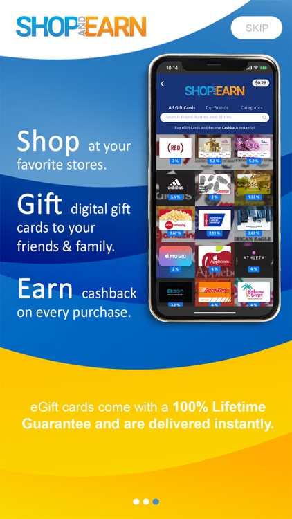 Shop and Earn Rewards