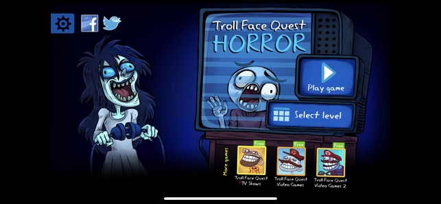 Troll Face Quest Horror on the App Store