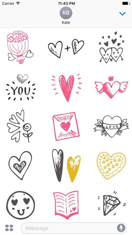 LOVe DOODLe Stickers screenshot-3