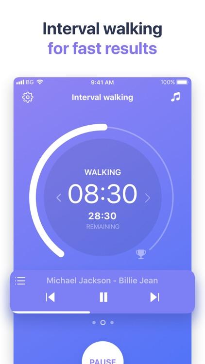 Organic Walk: Weight Loss App screenshot-6