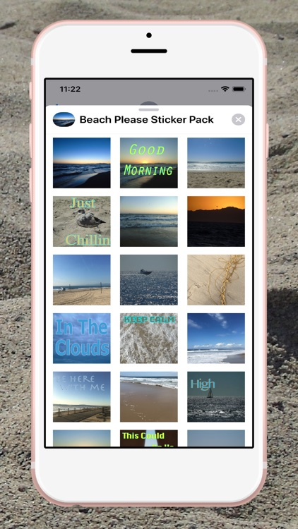 Beach Please Stickers Pack screenshot-4