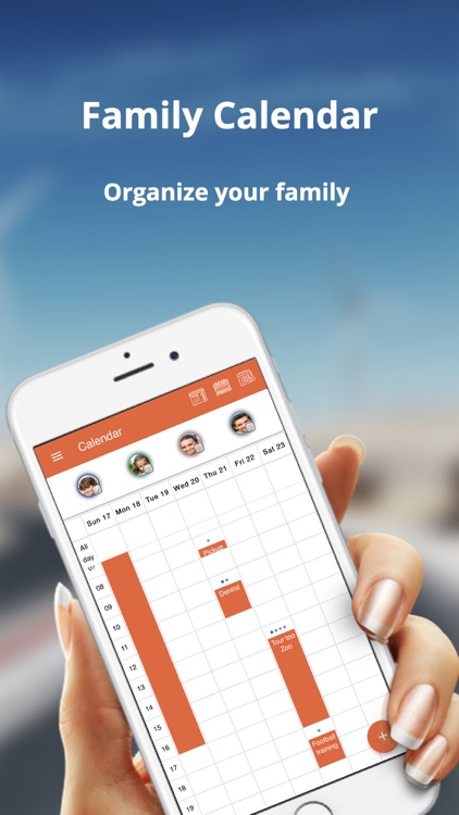 Family organiser - family.zone screenshot-1