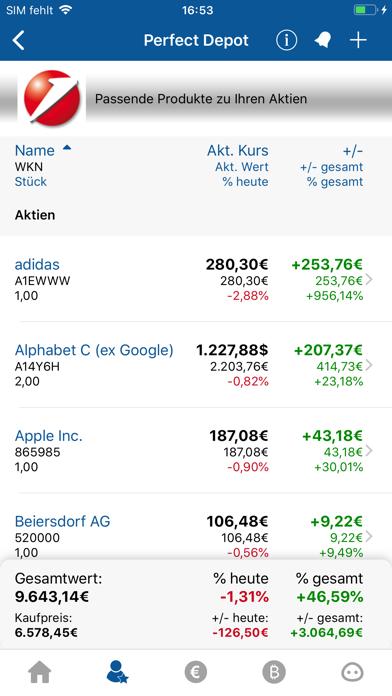 Börse & Aktien - finanzen.net screenshot four