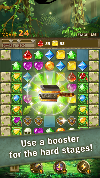 Jewels Jungle : Match 3 Puzzle screenshot 4