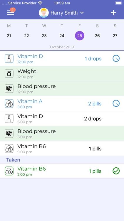 Mr. Pillster pill reminder rx screenshot-6