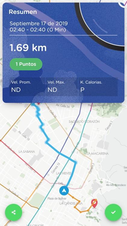 Mapas Bogotá Bici screenshot-3