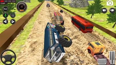 モンスター バス 未舗装道路 レーシング 3Dのおすすめ画像4