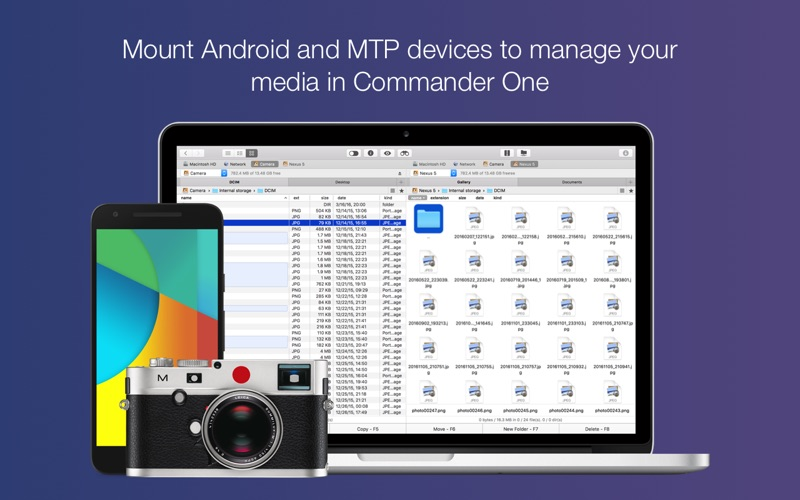 Commander One PRO - FTP client Screenshots