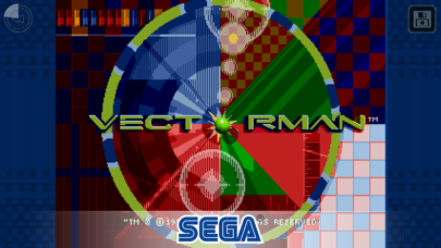 Screenshot from VectorMan Classic