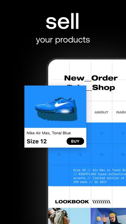 Universe — Website Builder