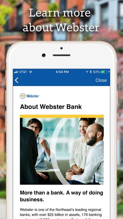 Webster Bank Mobile screenshot-5