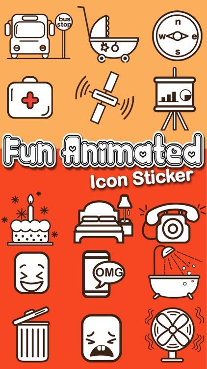 Fun Animated Icon Sticker