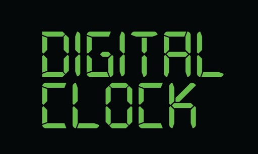 Digital Clock for TV