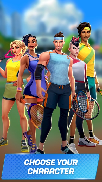 download Tennis Clash:Game of Champions indir ücretsiz - windows 8 , 7 veya 10 and Mac Download now