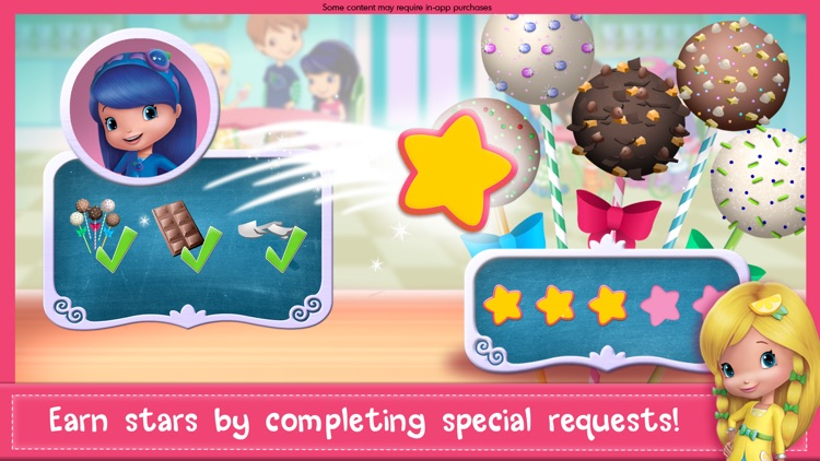 Strawberry Shortcake Sweets screenshot-3