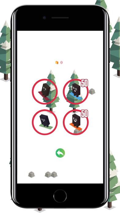 Forest Skiing screenshot #2