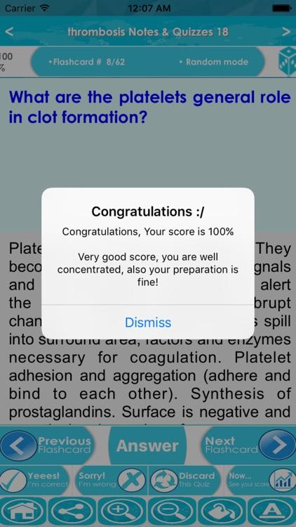 Thrombosis Exam Review : Q&A screenshot-4