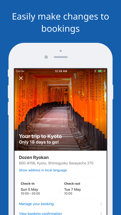 Screenshot for Booking.com Travel Deals in Canada App Store