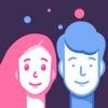 貌合-加速时光,face matching app