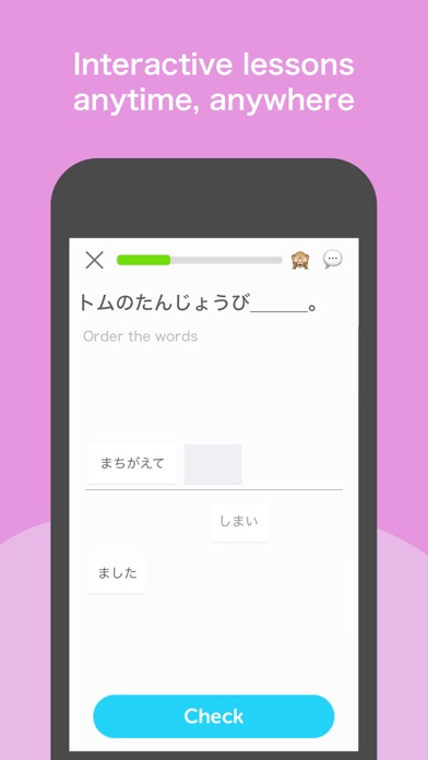 Learn Japanese: Bunpo Screenshot
