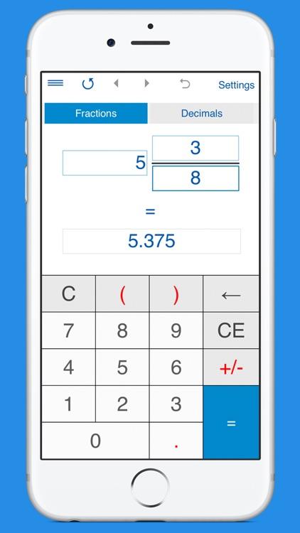 Fraction Calculator 4in1 screenshot-3