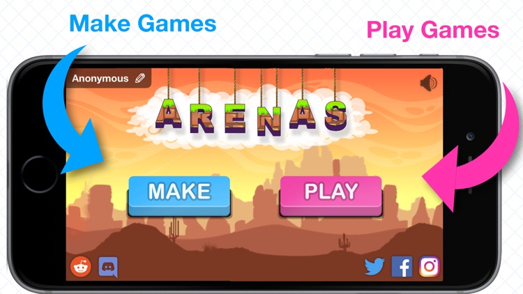 Arenas - Play and Make Games