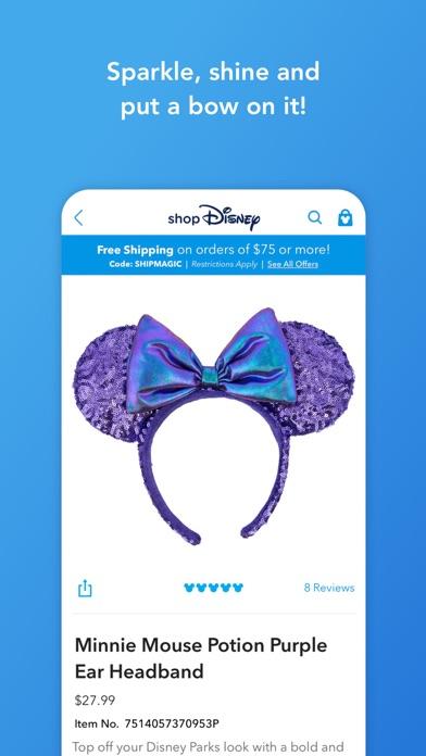 Shop Disney Screenshot