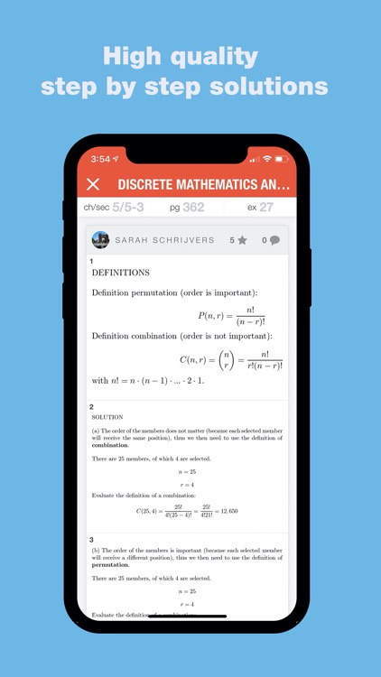 Slader Math Homework Answers screenshot-3