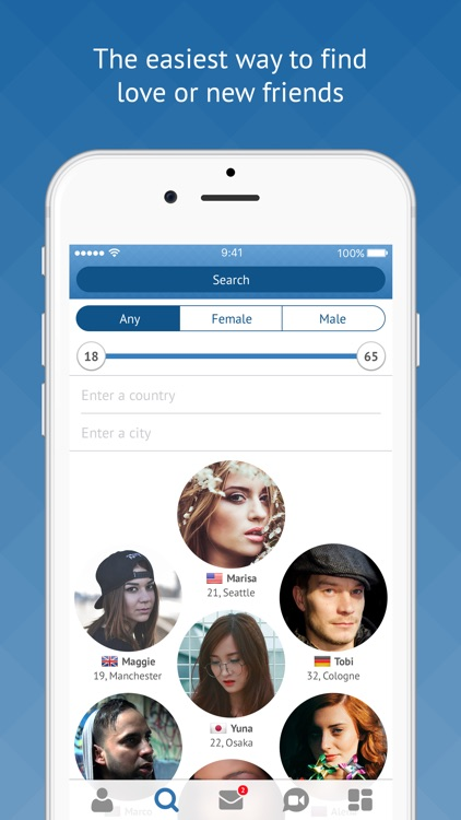 Fruzo– Video Chat & Dating App