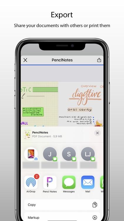 Pencl Notes screenshot-4