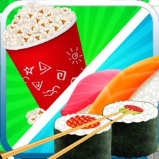 Activities of Sushi Maker - Japanese Cooking