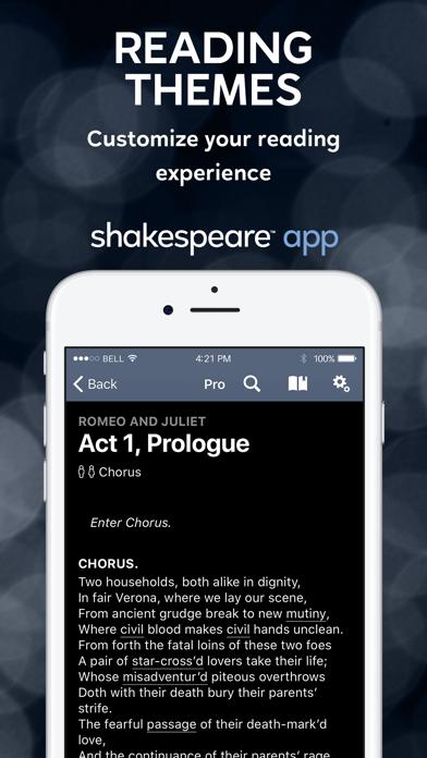 Shakespeare screenshot four
