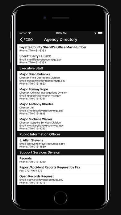 Fayette County GA Sheriff | App Price Drops