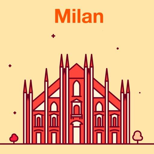 Милан 2020 — офлайн карта