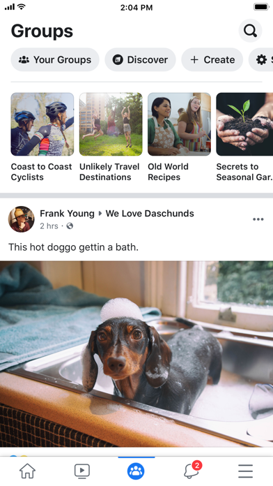 Screenshot for Facebook in Ireland App Store