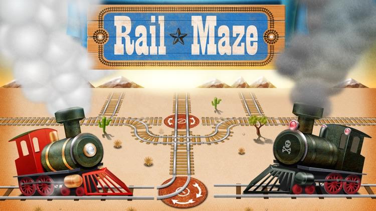 Rail Maze : Train Puzzler screenshot-4
