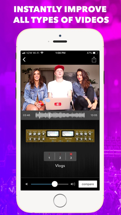 VideoMaster: EQ For Videos App screenshot-1