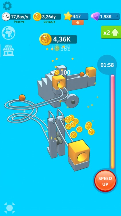 Balls Rollerz Idle 3D Puzzle screenshot-2
