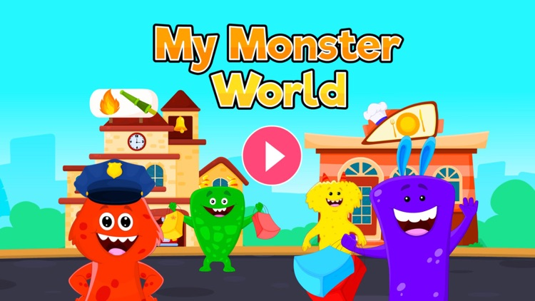 My Monster Town - Play World